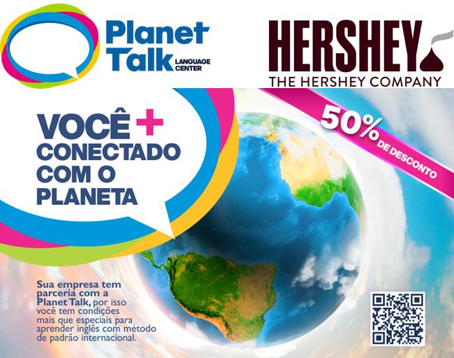HERSHEY'S E PLANET TALK SÃO ROQUE RENOVAM PARCERIA